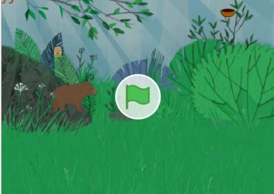 Bär und Fuchs – Nr. 5492